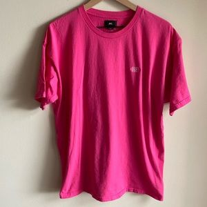 Obey Pink Embroidered Shirt